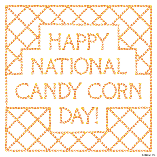 Happy National Candy Corn Day!