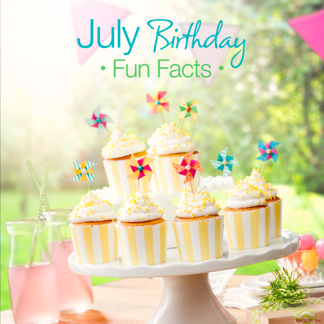 July Birthday Fun Facts BLG AG