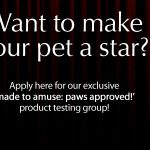 Made to Amuse: Paws Approved! Official Rules